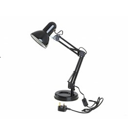 KINGAVON E27 BLACK HOBBY DESK LAMP