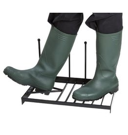 GARLAND BOOT SCRAPER WITH BOOT PULL & HOLDER