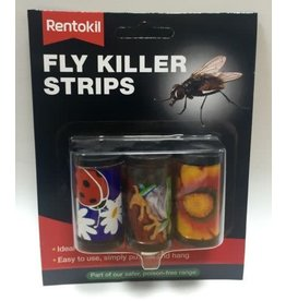 Rentokil RENTOKIL FLY KILLER STRIPS 3'S