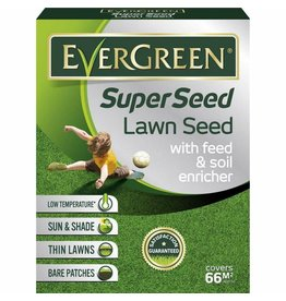 EVERGREEN SUPER SEED LAWN SEED 2KG 66M2