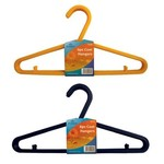 ASHLEY 6PC PLASTIC COAT HANGERS