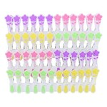 ELLIOTTS EXTRA STRONG SOFT GRIP MINI FLOWER PEGS 24 PACK