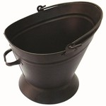 INGLENOOK FIRE122 BLACK COAL WATERLOO BUCKET BLACK HANDLES
