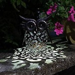 Smart Garden SMART GARDEN METAL OWL SCROLL LIGHT
