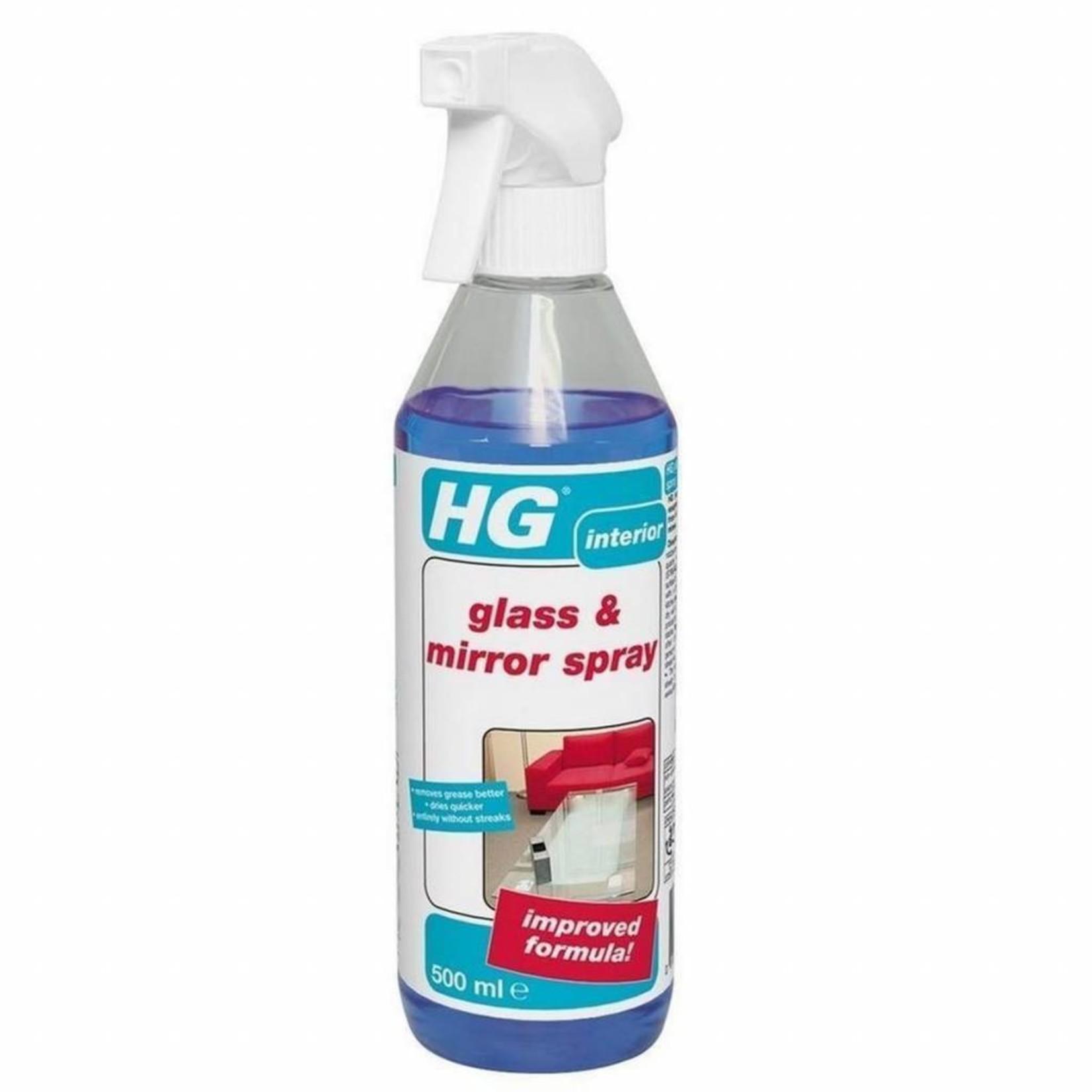 HG HG GLASS & MIRROR SPRAY INTERIOR