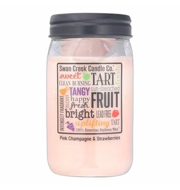 Swan Creek SWAN CREEK PINK CHAMPAGNE & STRAWBERRIES; SIZE: 12OZ;