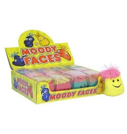 SMILEY MOODY FACE STRESS BALL