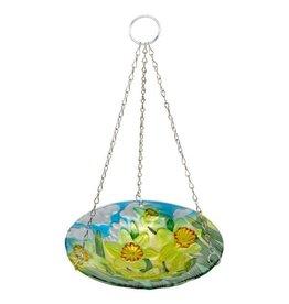 Smart Garden SMART GARDEN HANGING GLASS BIRDBATH - DAFFODIL