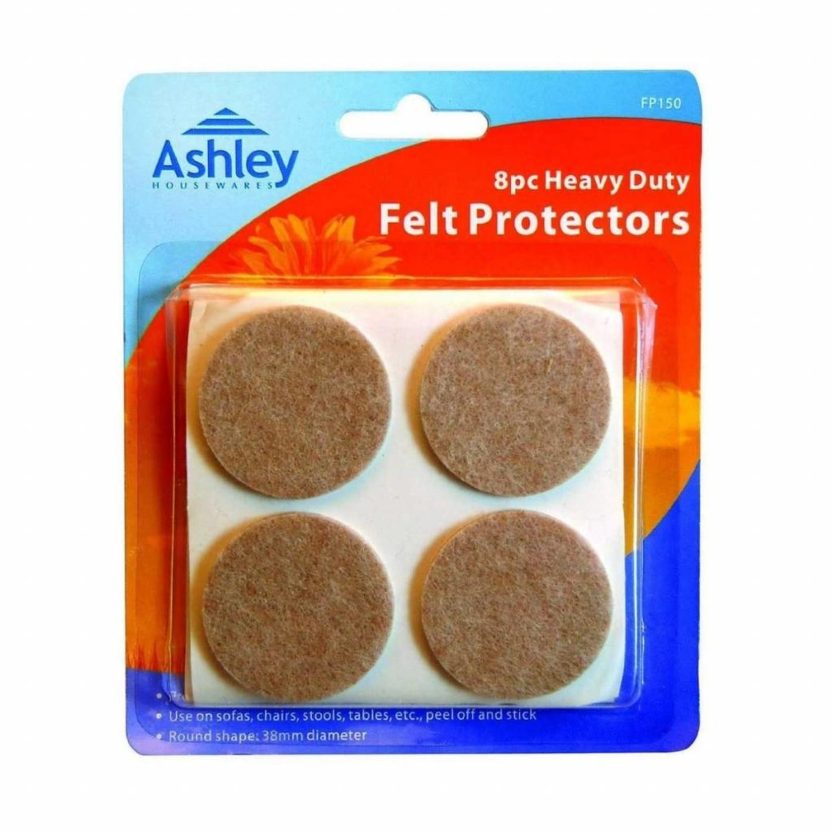 ASHLEY HEAVY DUTY FELT PROTECTORS 8 PACK