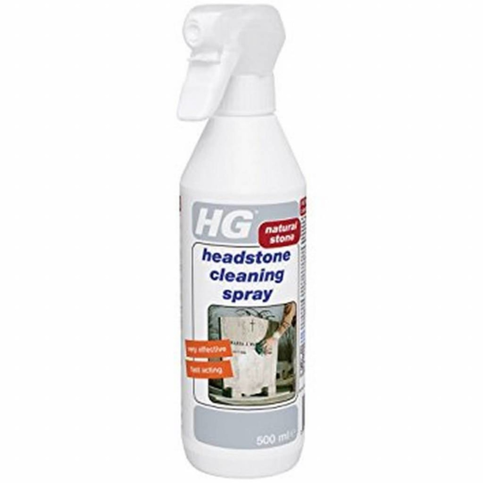 HG HG HEADSTONE CLEANING SPRAY NATURAL STONE