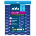 Minky MINKY SMART FIT COVER 125X45CM COSMOS BLUE DESIGN
