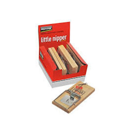 Pest Stop PEST STOP LITTLE NIPPER RAT TRAP 6PK
