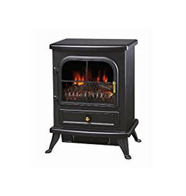 MANOR VISTA 2 ELECTRIC STOVE BLACK