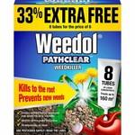 Weedol WEEDOL PATHCLEAR 6+2 TUBES FREE