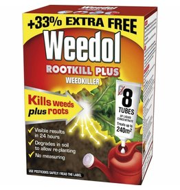 Weedol WEEDOL ROOTKILL PLUS 6+2 TUBES FREE