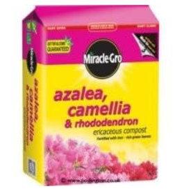 Miracle-Gro MIRACLE-GRO CAMELIA, AZALEA, RHOD COMPOST 10 Litre
