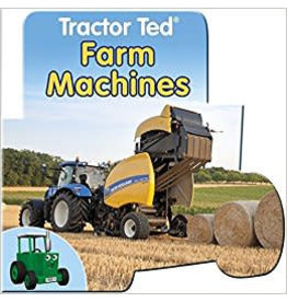 Tractor Ted TRACTOR TED FARM MACHINES BOARD BOOK