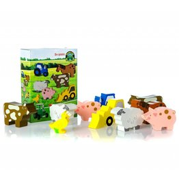 Tractor Ted TRACTOR TED WOODEN FARM TOYS
