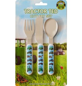 TRACTOR TED CUTLERY SET (3 PIECE)