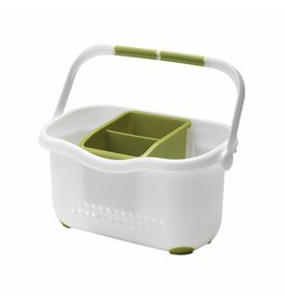 Addis ADDIS SINK CADDY WHITE & GRASSY GREEN