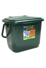 Addis ADDIS KITCHEN COMPOST CADDY DARK GREEN