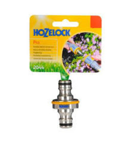 Hozelock 2044 HOZELOCK PRO DOUBLE MALE CONNECTOR METAL