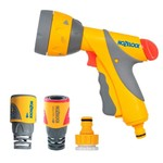 Hozelock 2351 HOZELOCK MULTI SPRAY GUN PLUS SET W/H PRO HOSE END CONNECTOR TAP CONNECTOR AND WATER STOP