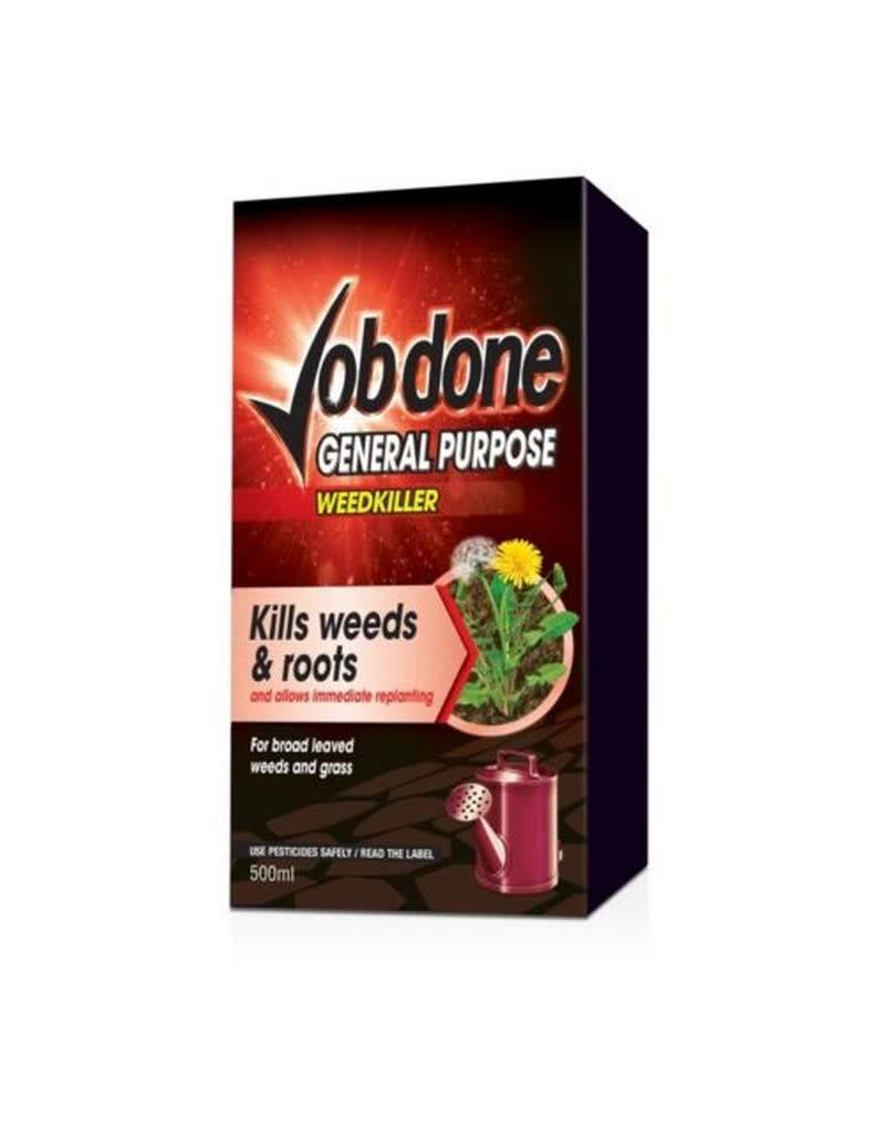 Job Done JOB DONE GENERAL PURPOSE WEEDKILLER 1L CONCENTRATE