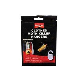 Rentokil RENTOKIL CLOTHES MOTH KILLER HANGERS 4PACK (DISC)
