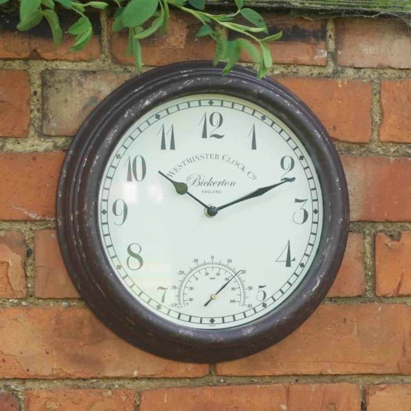 Smart Garden SMART GARDEN BICKERTON WALL CLOCK & THERMOMETER 12