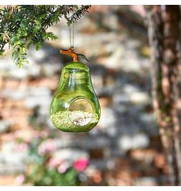 Smart Garden SMART GARDEN HANGING GLASS FEEDER - PEAR