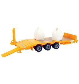 Britains BRITAINS BIG FARM KANE LOW LOADER AND TRAILER
