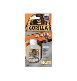 Gorilla GORILLA CLEAR SUPER GLUE 50ML
