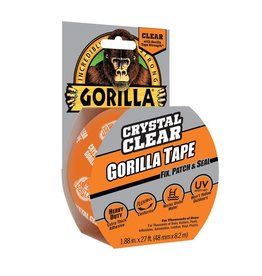Gorilla GORILLA CRYSTAL CLEAR & REPAIR 8.2m x 48mm