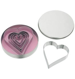 Judge JUDGE 6PCE HEART SHAPE CUTTERS