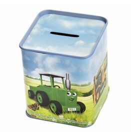 TRACTOR TED TIN MONEY BOX