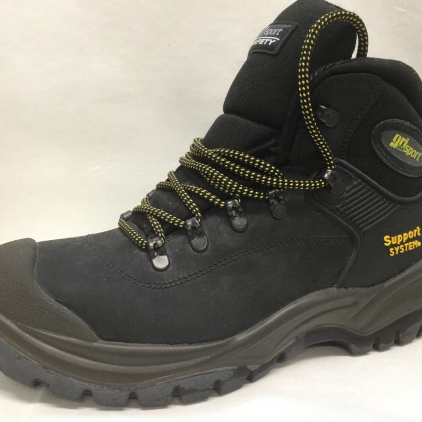 CONTRACTOR BOOT STEEL TOE TOECAP SAFETY BOOTS SIZE 47 (13) BLACK