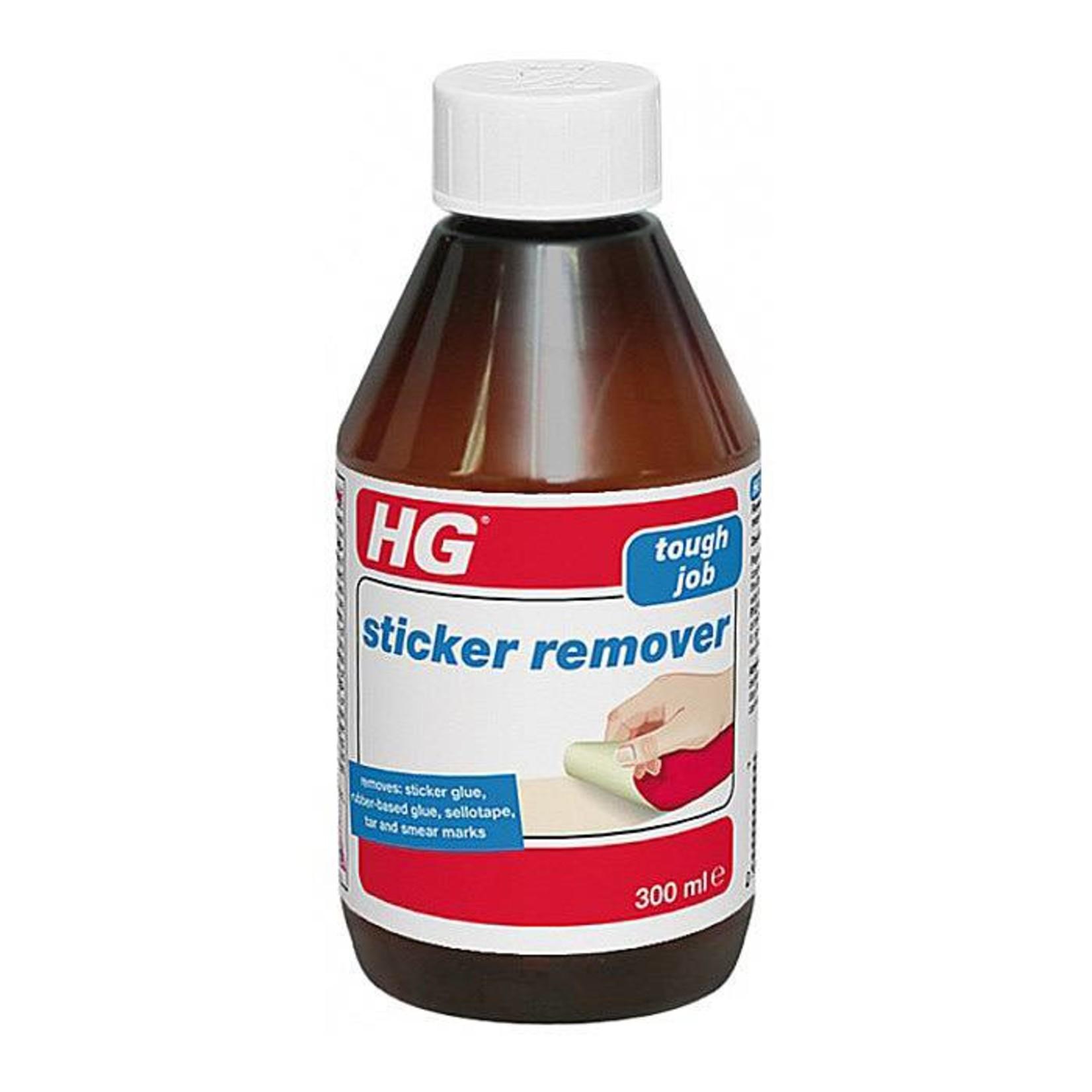 HG HG STICKER REMOVER TOUGH JOB GLUE, SELLOTAPE, TAR & MARKS 300ML