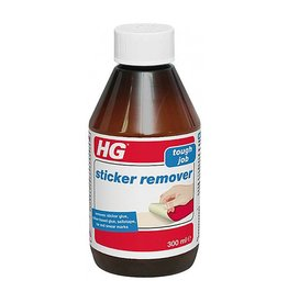 HG HG STICKER REMOVER TOUGH JOB GLUE, SELLOTAPE, TAR & MARKS 300ML