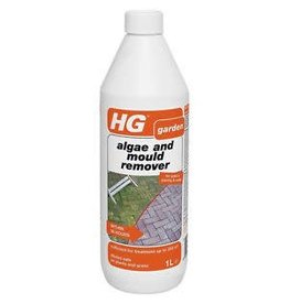 HG HG MOSS, ALGAE AND MOULD REMOVER PATIO'S, PAVING & WALLS 1L