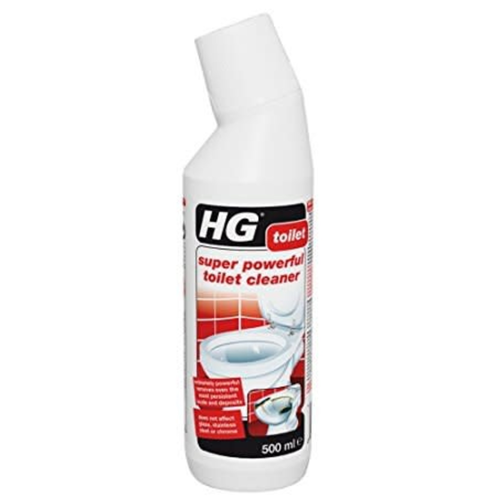 HG HG SUPER POWERFUL TOILET CLEANER 500ML