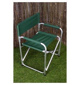 Redwood Aluminium Folding Directors Chair Green