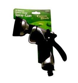Brand New Green Blade 10 Pattern Deluxe Metal Spray Gun GA053