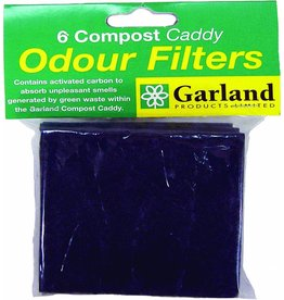 GARLAND SET OF SIX REPLACEMENT FILTERS FOR COMPOST CADDIES