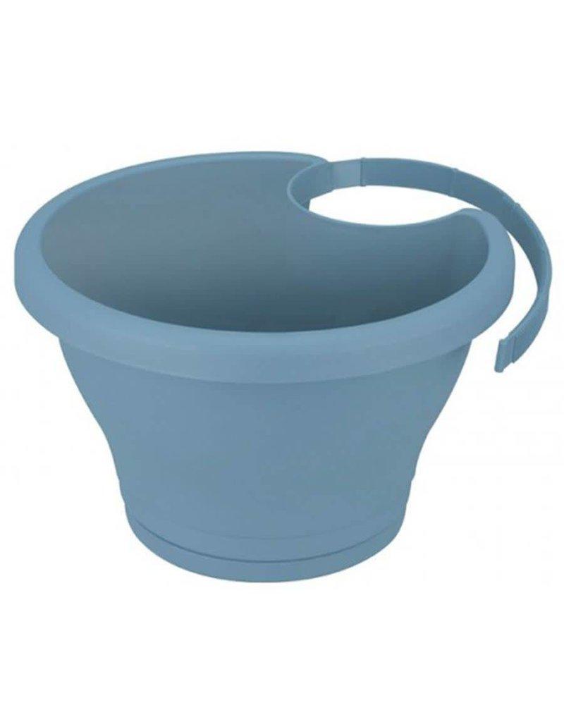 Elho ELHO CORSICA DRAINPIPE CLICKER 24CM VINTAGE BLUE