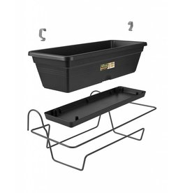 Elho ELHO GREEN BASICS TROUGH ALLIN1 50CM LIVING BLACK