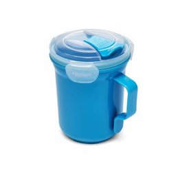 Addis ADDIS CLIP AND GO MICRO SOUP MUG - BLUE