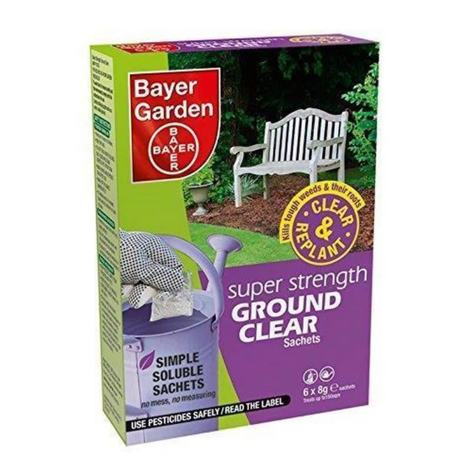 Bayer Garden BAYER GARDEN SUPER STRENGTH GROUND CLEAR SACHETS 6