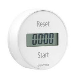 Brabantia BRABANTIA MAGNETIC TIMER WITH 5 YEAR GUARANTEE
