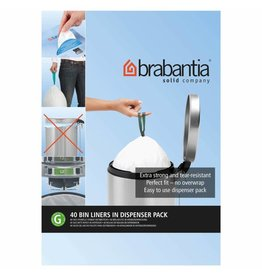 Brabantia BRABANTIA BIN LINER G, 30 LITRE - 100 BAGS